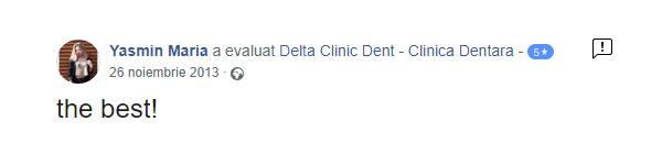 Recomandare-delta-clinic-dent-pareri-dentist-bun-bucuresti-sector-1